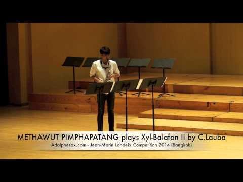 METHAWUT PIMPHAPATANG plays Xyl Balafon II by C Lauba