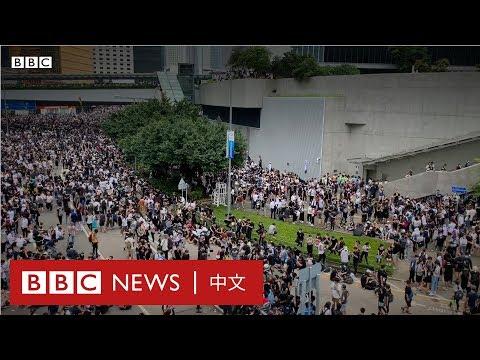 逃犯條例:示威現場人士採訪- BBC News 中文 |反送中|
