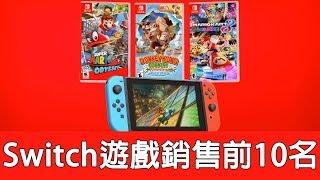 【遊戲閒聊】Switch遊戲銷售最高的前10名,你買了那些呢?銷售第一居然是......!!《狐狸牧場》