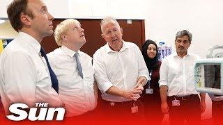 Boris Johnson, primer ministro de Reino Unido, inyecta 1.800 millones de libras en el Servicio Nacional de Salud