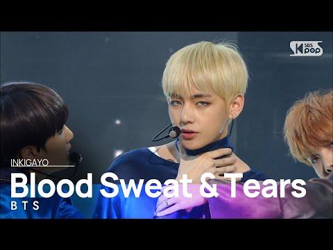 《SEXY》 BTS (방탄소년단) - Blood Sweat & Tears (피 땀 눈물) @인기가요 Inkigayo 20161023