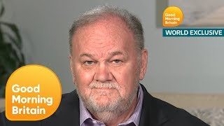 Thomas Markle Made Prince Harry Promise He'll Never Raise His Hand to Meghan | Good Morning Britain