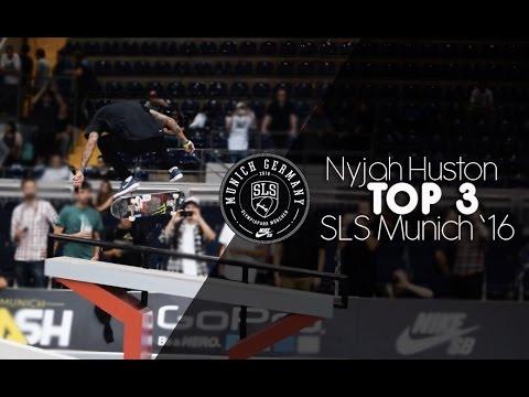 SLS Munich 2016: Nyjah Huston's TOP 3