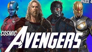 Thor & the Asgardians of the Galaxy + Nova in Phase 4 - Avengers Endgame