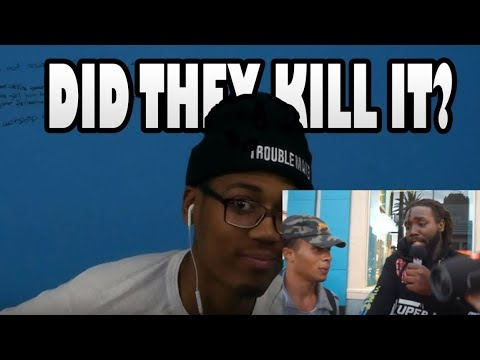 He MURDERED My Beat!! - Asking RANDOM People to Freestyle on MY Beats!! (Part 4) REACTION