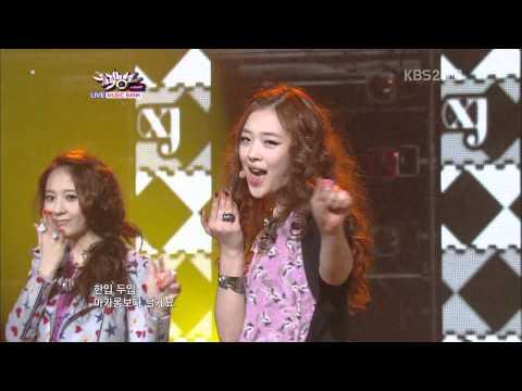 110429 KBS MUSICBANK -  f(x) 피노키오(Danger)