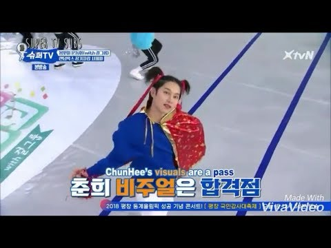 (Super TV) Kim Heechul x Fromis 9 performance. He's teacher who listened his student well