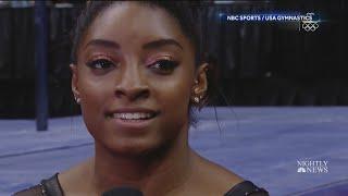 Texan Simone Biles soars to 6th US gymnastics title