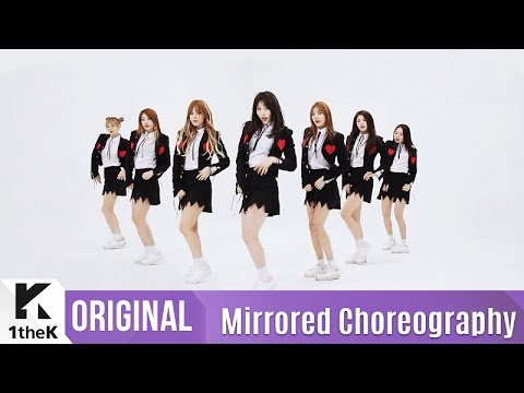 [Mirrored] SONAMOO(소나무)_I Think I Love U Choreography(나너좋아해) 거울모드 안무영상)_1theK Dance Cover Contest