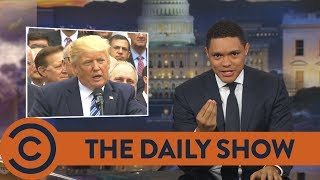 "Trump's New Healthcare Bill Is A ""Son Of A B*tch"" - The Daily Show 