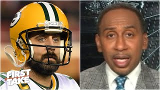 Is Aaron Rodgers still a top-3 QB? Stephen A. says no | First Take 1