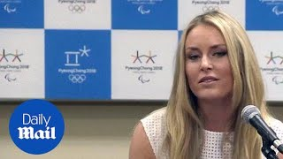 Lindsey Vonn refuses to answer Tiger Woods questions in May - Daily Mail