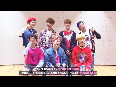 [ENG SUB] 161030 Weibo Hallyu Interview with NCT DREAM