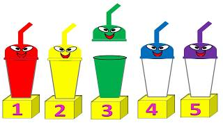 New way to teach colors and counting numbers for Babies and Toddlers !!