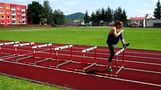 Improving coordination and vertical jump | HURDLES DRILLS