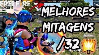 MELHORES MITAGENS [HIGHLIGHT] #32 - FREE FIRE 2019 (GARU FREEFIRE) - BEST SMG's MP40 M79 HS AND RUSH