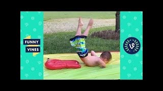 TRY NOT TO LAUGH - Ultimate Water FAILS Compilation | Funny Vines May 2018