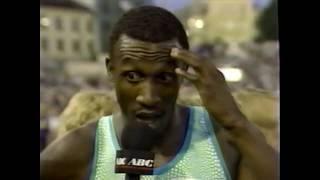 Carl Lewis vs  Linford Christie - 1990 Bislett Games - Men's 100m