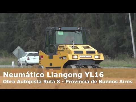 Neumático YL16 Liangong en Accion