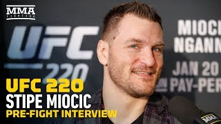 UFC 220: Stipe Miocic Talks Relationship With Dana White, Feuding With Wife, Place In History