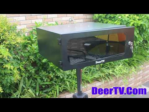 Outdoor projector enclosure, DeerTV weatherproof Projector Enclosure