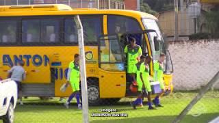 Equipe do Esportivo de Bento Gonçalves treina em Garibaldi
