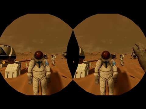 Mars 2030' VR Gameplay Footage by Road to VR @RtoVR