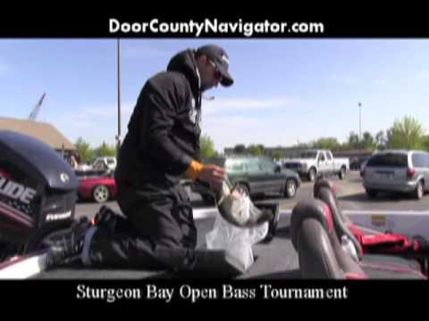 A Peek Inside the Door - Sturgeon Bay Bass Tournament #1301
