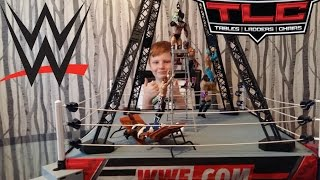 wwe toys tlc for high flying championship .