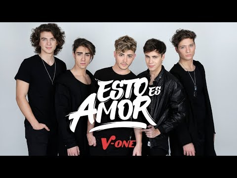 V ONE | ESTO ES AMOR  (VIDEO OFICIAL)