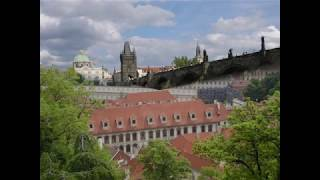 Prague springtime music from Dvorak serenade op22 mvt2 arranged for piano and strings - YouTube