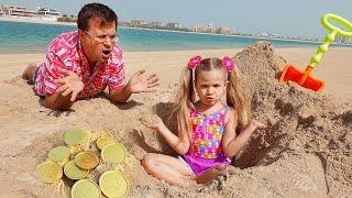 Diana, Roma and their Beach games