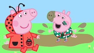 Peppa Pig English Episodes | Peppa Pig Loves Muddy Puddles! | Peppa Pig Official