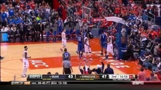 CBB 13/14 #17 Duke Blue Devils vs #2 Syracuse Orange 02/01/14 (Full Game)