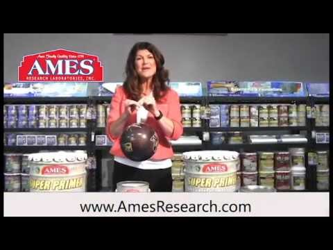 Ames'® Super Primer™ - Strong Enough to Hold a Bowling Ball?