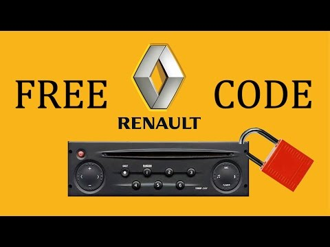 Renault Radio Code | Free Stereo Code Calculator