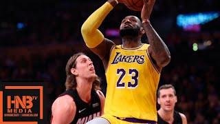 Los Angeles Lakers vs Miami Heat 1st Half Highlights   12.10.2018, NBA Season