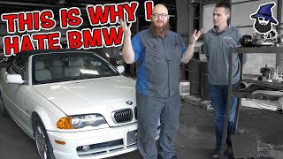 Why does the CAR WIZARD hate BMW's?!? He explains exactly why on this 2001 325Ci?