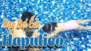 Dạy học bơi ếch cho bé tại bể bơi Hapulico - Hapuswimming.com