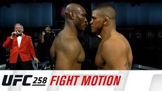 UFC 258: Fight Motion