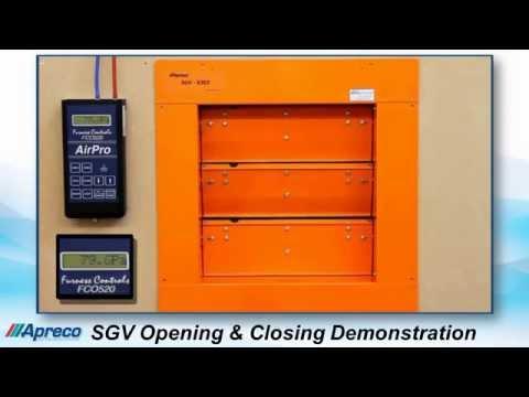 Apreco SGV Synthetic Gas Pressure Relief Vents
