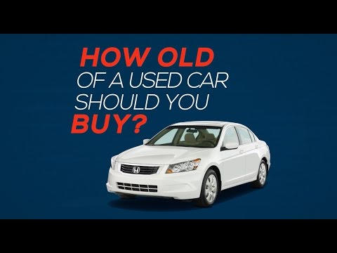 How Old Of A Used Car Should You Buy?
