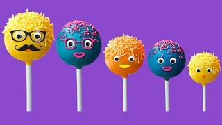 The Finger Family Cake Pop Family Nursery Rhyme | Cake Pop Finger Family Songs
