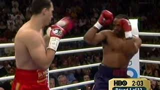 Wladimir Klitschko vs Chris Byrd  II