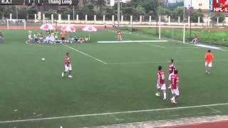 Tuấn Hưng lập siêu phẩm tại giải bóng đá phủi HN