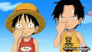 Câu chuyện của ace luffy và sabo.. tình anh em