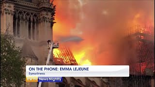 Notre Dame Cathedral Fire - ENN 2019-04-15