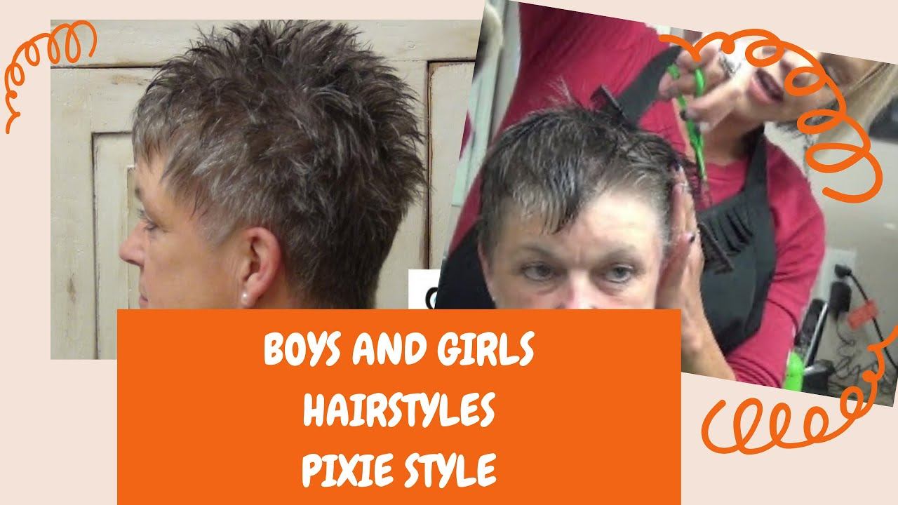 How To Cut Short And Cute Hair For Any Age Hairstyle
