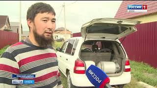 Жители около 40 домов села Троицкого уже неделю живут без воды