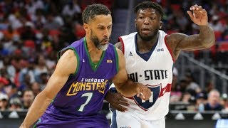 Mahmoud Abdul-Rauf vs Nate Robinson Full Duel Highlights | Week 4 | BIG 3 Season 2